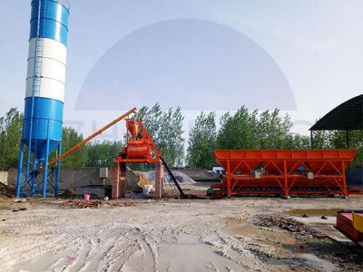 HZS50 Concrete Batching Plant in Ghana