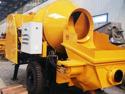 JBS40 Diesel Concrete Pump With Mixer Low Budget