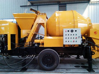 JBS40 Electric Concrete Mixer With Pump Hot Selling