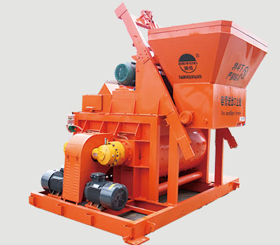 main concrete mixer
