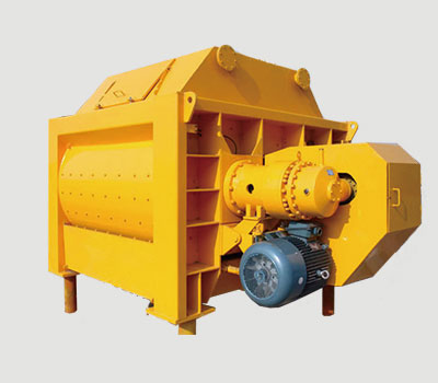 twin shaft concrete mixer