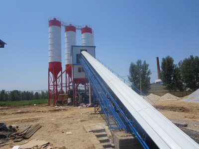 belt converyor equipment,concrete mixing station