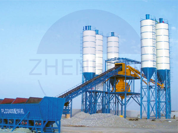 HZS 180 concrete mixing plants