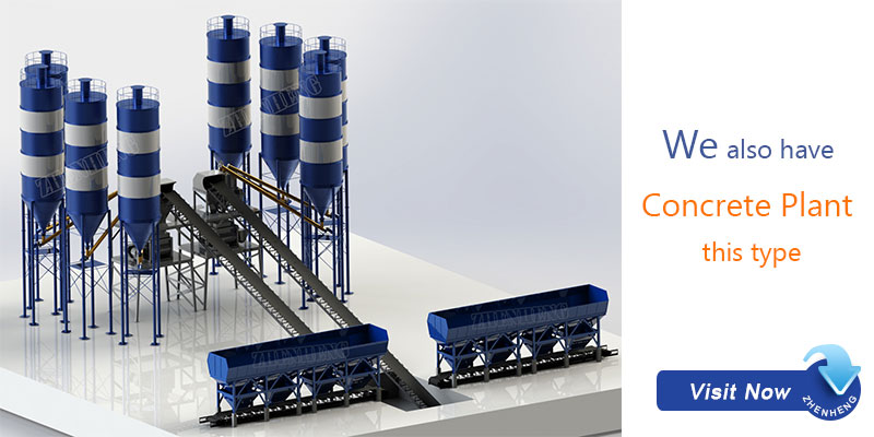 belt conveyor concrete batching plant