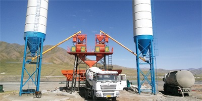 hzs75 ready mixed concrete batching plant