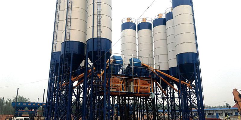 60m3 concrete batching plant