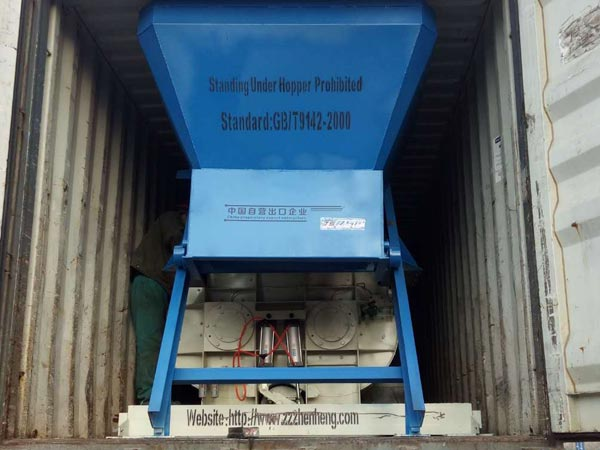 HZS35 Concrete Batching Plant delivery to Bangladesh